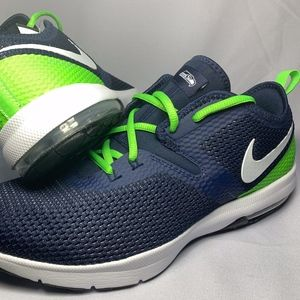 Nike Air Max Seattle Seahawks NFL Size 10.5